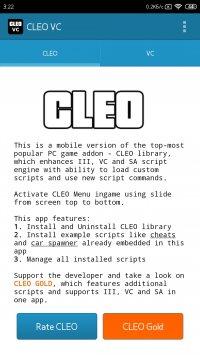 CLEO VC