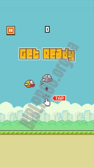 Скачать Flappy Bird 1.3 для Android бесплатно