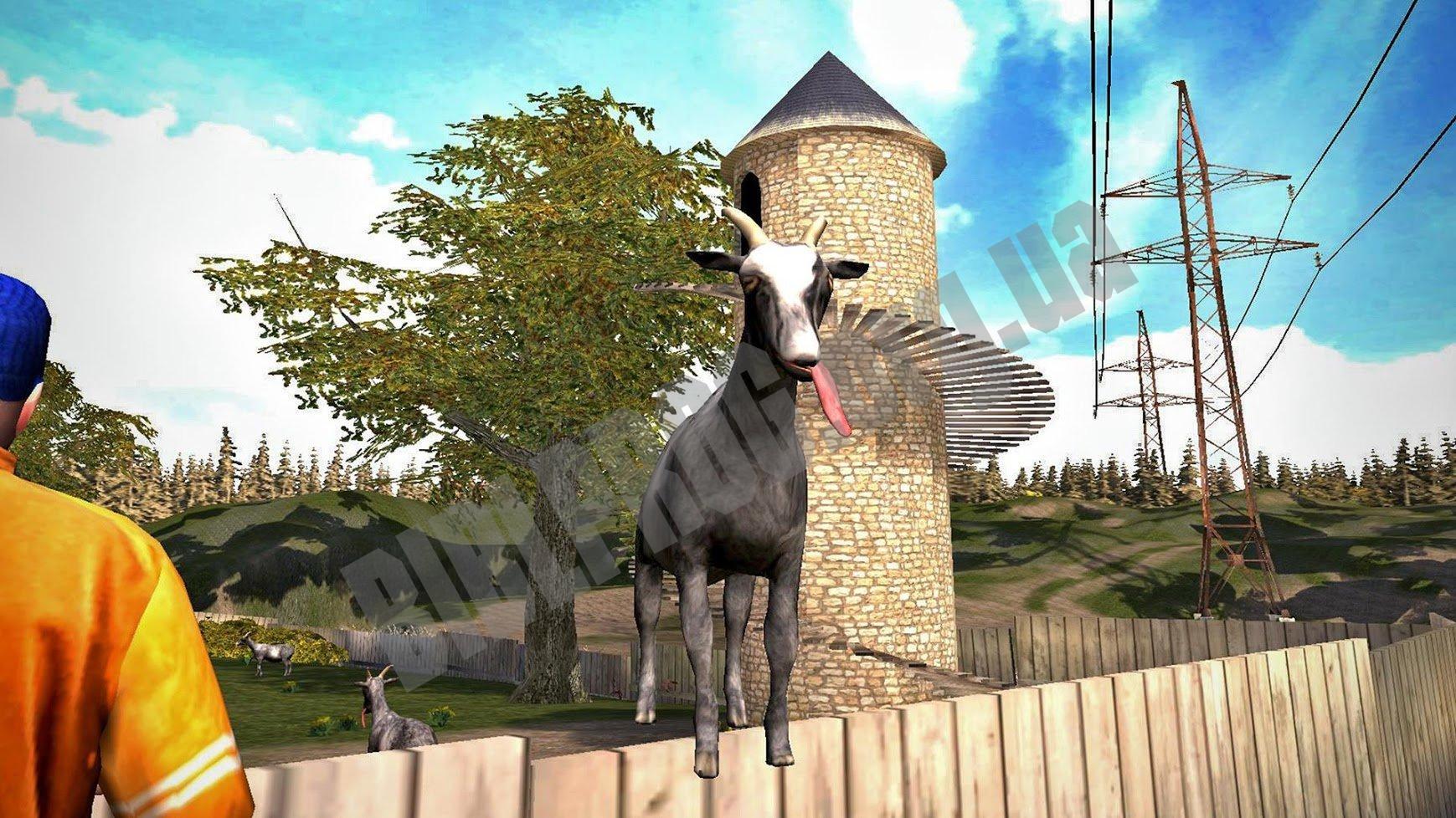 скачать goat simulator free взлом