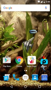 HD Aquarium Live Wallpaper 3D