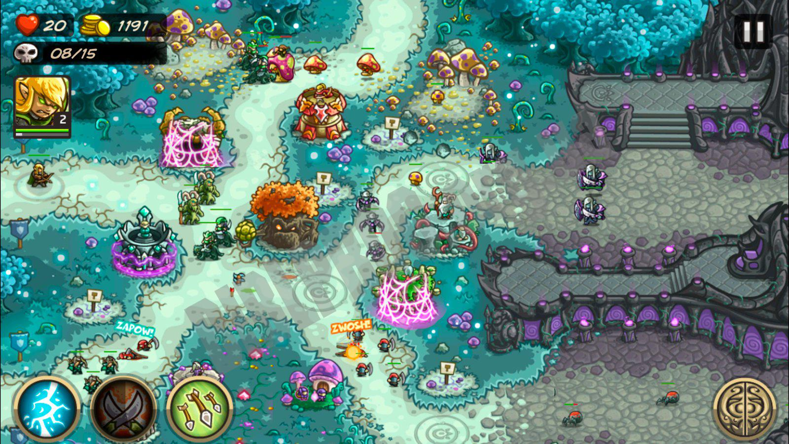 Kingdom rush 2 download android