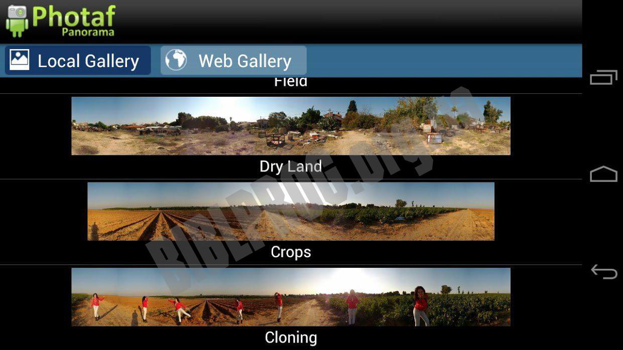 сделать панорамные фотографии приложения почувствовать