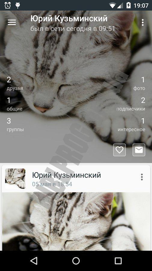 Polyglot for VK