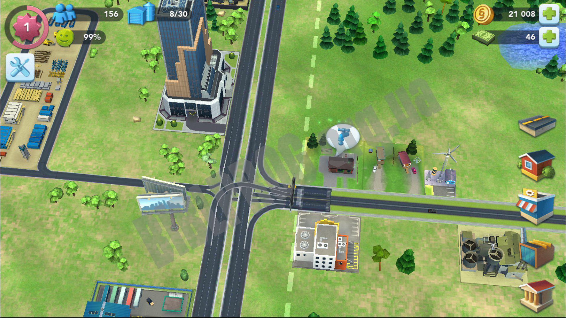 Она не требует от вас подключения к интернету и таймера на постройку зданий, что меня сильно раздосадует в других, подобных играх.