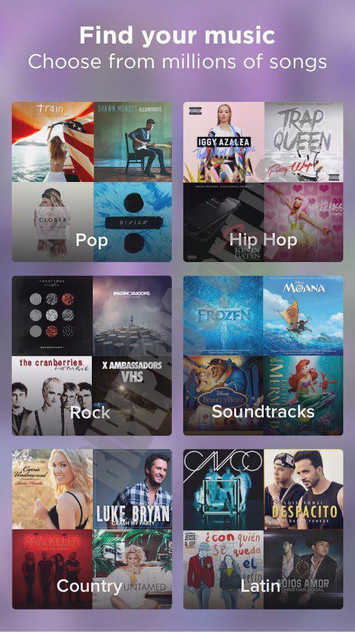 Скачать приложение караоке. Обзор мобильных караоке приложений.