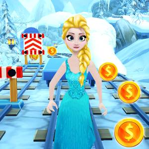 Subway Ice Princess Run