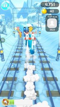 Subway Ice Princess Run