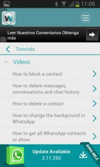 Update WhatsApp